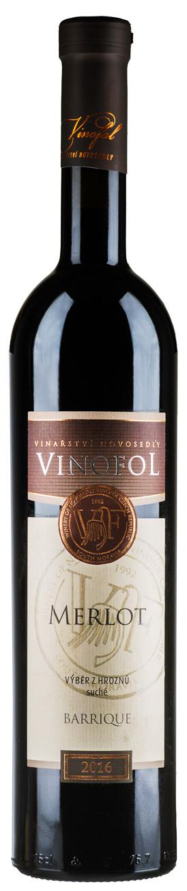 Merlot wino czerwone wytrawne