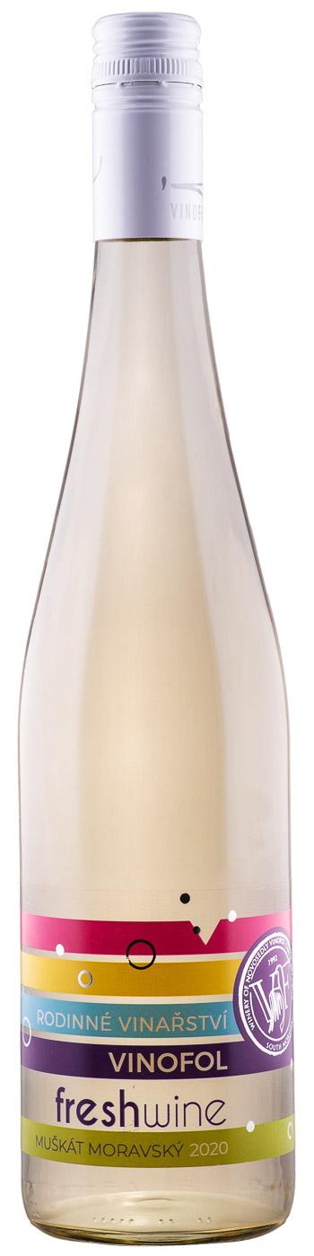 Muskat Morawski - wino musujące