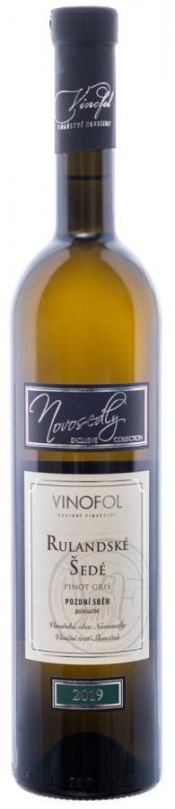 Pinot Gris - Rulandske Sede - wino morawskie